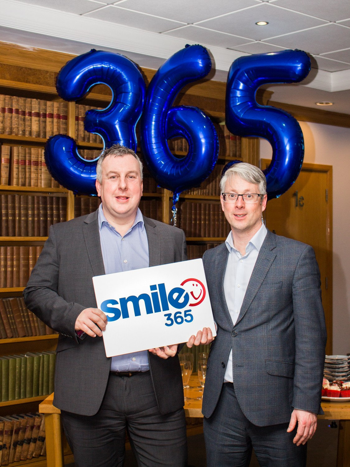 Andy Steele with Sean Maloney from 360 Accountants