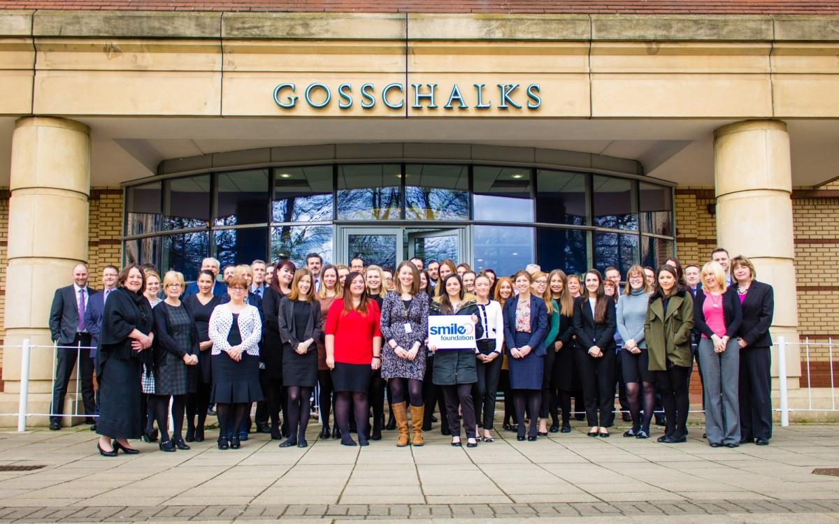 Staff outside Gosschalks