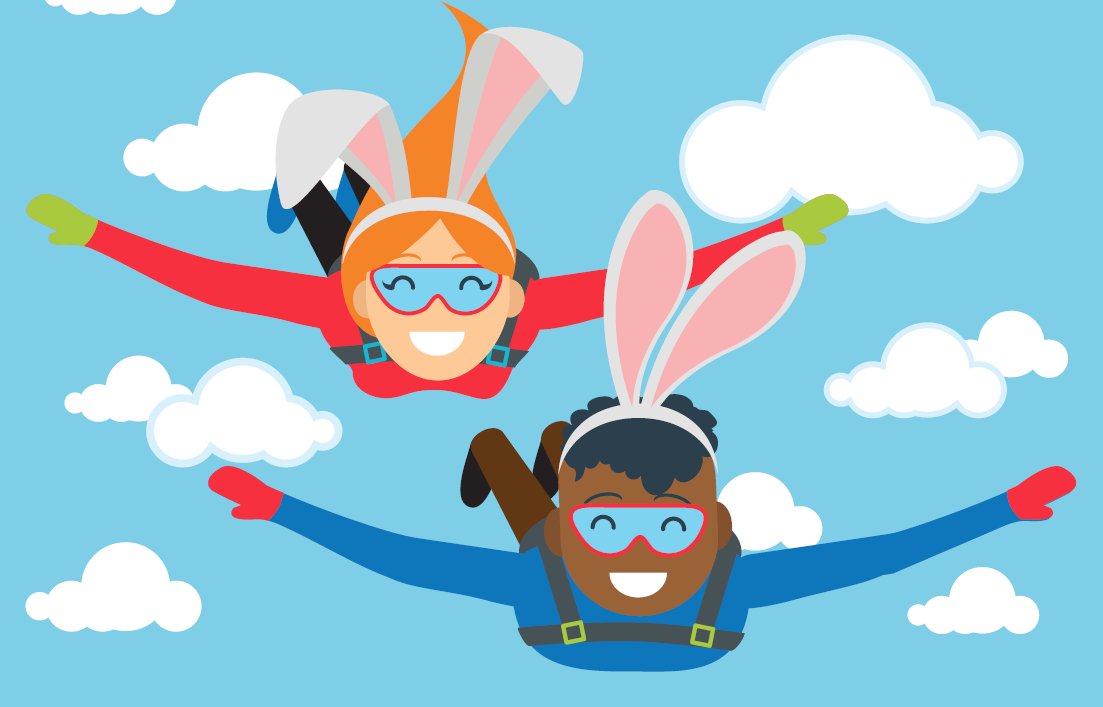 2018 EASTER BUNNY HOP SKYDIVE