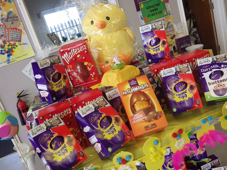 Endike Community Care Easter Eggs
