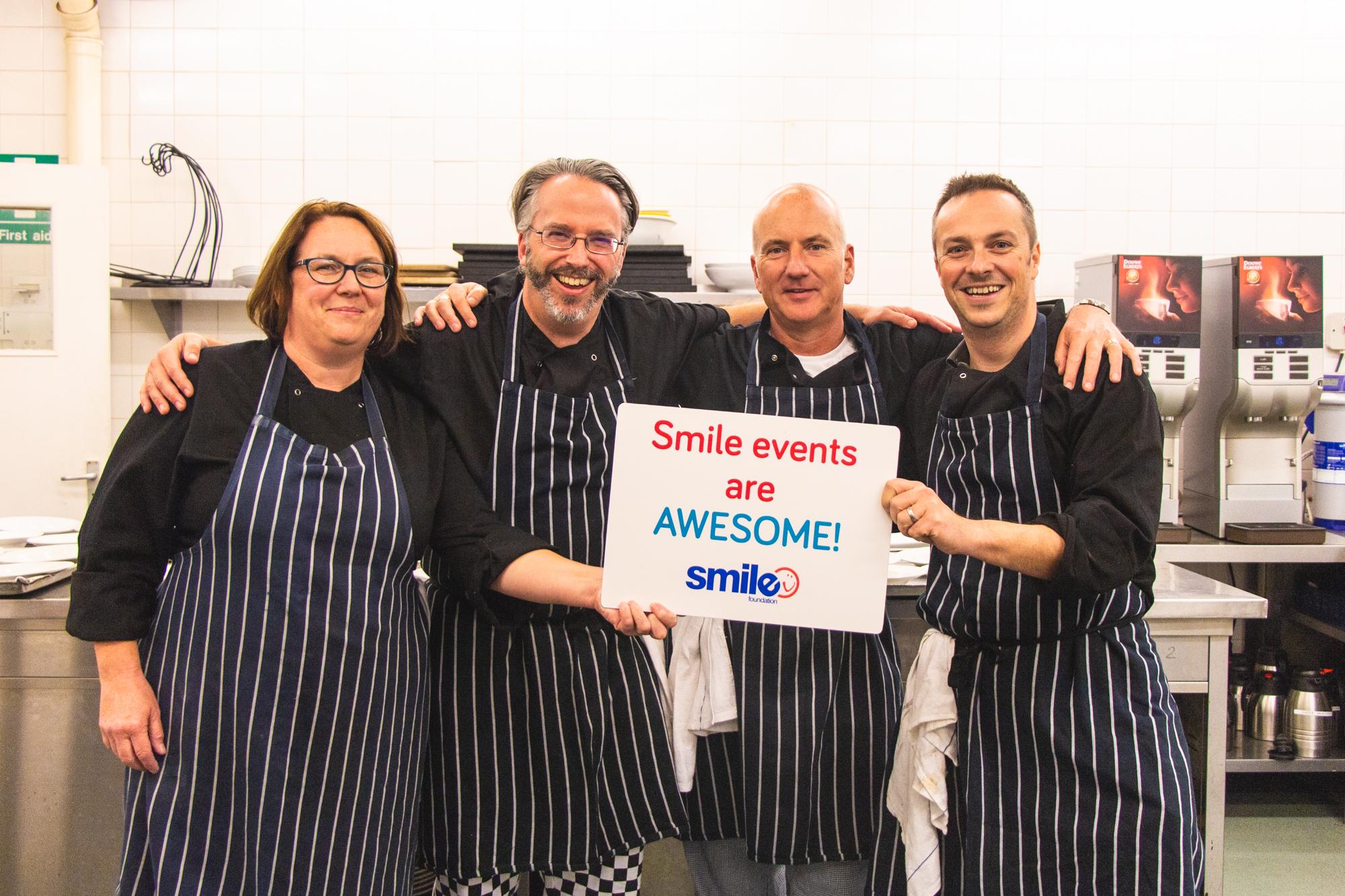 HSBC's Kitchen Team